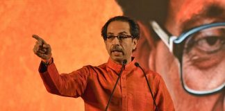 Shiv Sena chief Uddhav Thackeray.